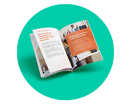 LP graphic-Rewarding Positive Behaviour Guide and Cheat Sheet