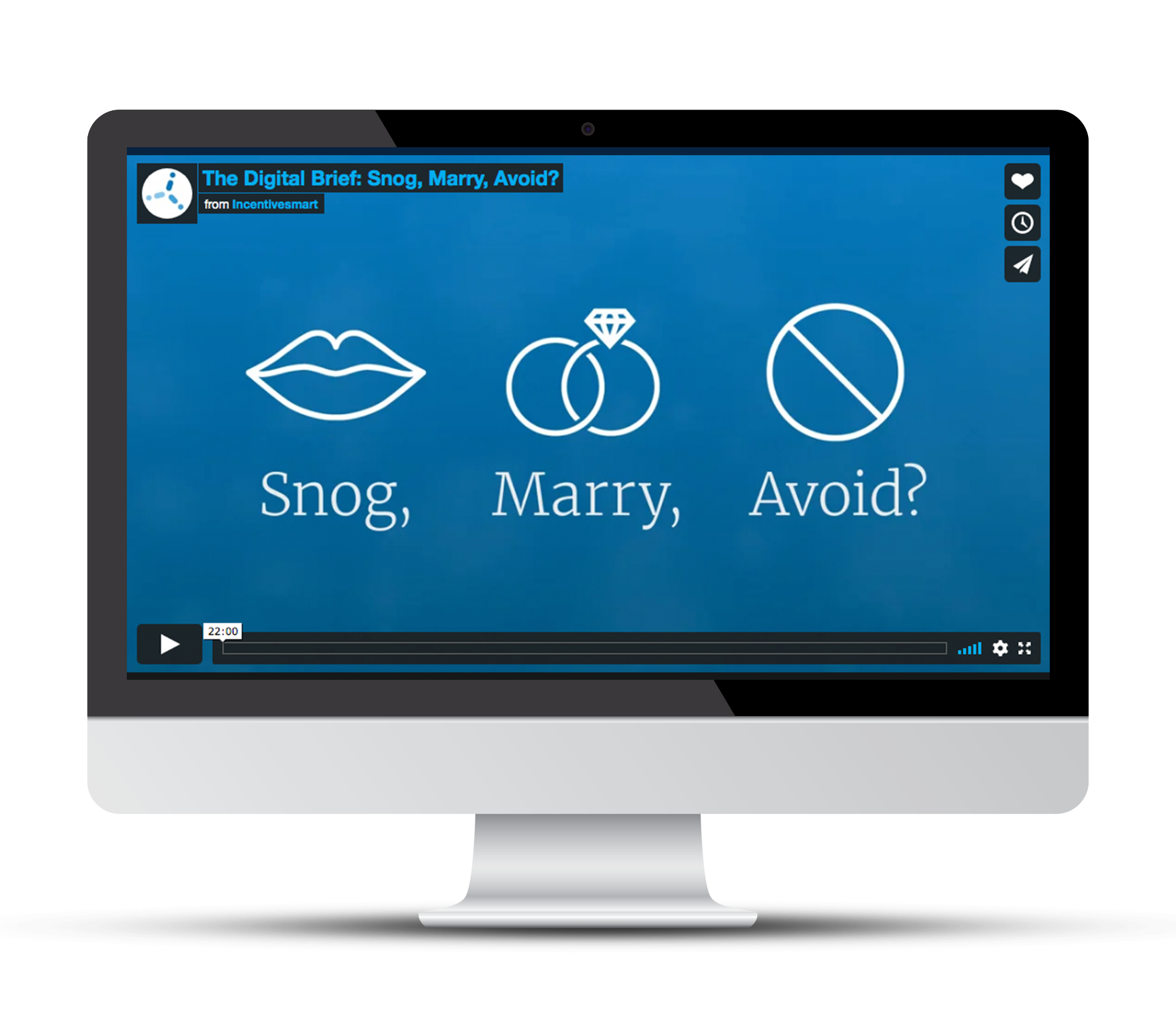 Snog, Marry, Avoid customer loyalty webnair