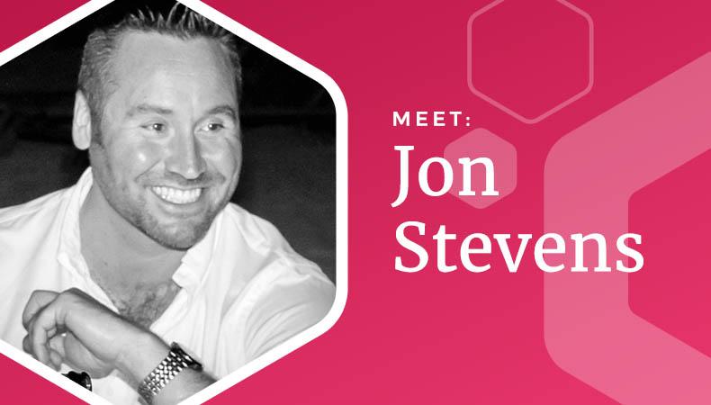 Meet the team - Jon Stevens