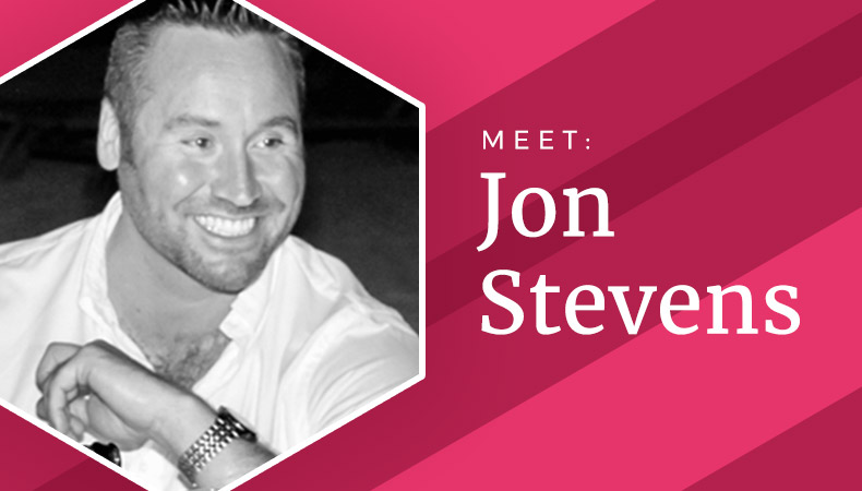 Meet the team - Jon Stevens